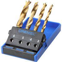 Комплект свредла за пробиване на дърво Dremel 636 /4 броя/