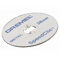 Диск карбофлексов за рязане на метал Dremel SC456 /Ф 38х1,12 мм., 5 броя/