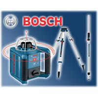 Нивелир лазерен GRL 300 HV Professional + BT 170 статив и GR 240 лата BOSCH /комплект/