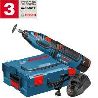 Акумулаторен ротационен мултифункционален инструмент BOSCH GRO 12V-35 /куфар L-Boxx, 2 батерии 2.0Ah/