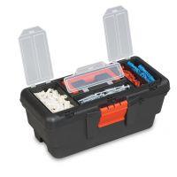 Кутия за инструменти с органайзер, пластмасова, 13