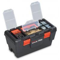 Кутия за инструменти с органайзер, пластмасова, 19