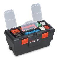 Кутия за инструменти с органайзер, пластмасова, 22