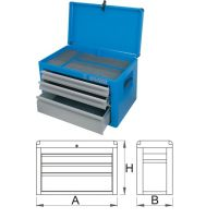 Шкаф за инструменти с 3 чекмеджета - 938/3V Unior
