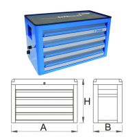 Шкаф метален с 4 чекмеджета - 939/4EV Unior