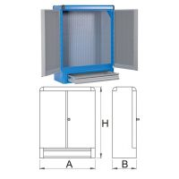 Шкаф за инструменти - 948E1 Unior