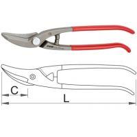 Ножица за ламарина - 572L/7PR Unior Лява