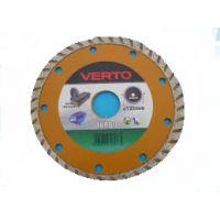 Диамантен диск за мокро рязане гладък 115 мм Verto