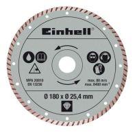 Диамантен диск Einhell / Ø 180 x Ø 25,4 мм / - 4301176