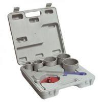 Комплект диамантени боркорони Topex в куфар 32-83 mm