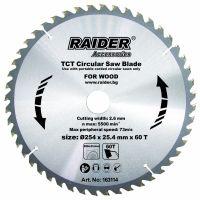 Диск за циркуляр Raider 254х60Tх25.4mm RD-SB14