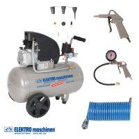 Електрически компресор ELEKTRO maschinen E241/8/50 / 50 l , 8 bar /