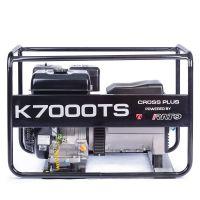 Бензинов генератор трифазен Cross plus K7000TRS /с двигател Rato ,7.0 kVa  /