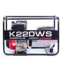 Заваръчен генератор CROSS PLUS K220WMS / 5.2 kW, с двигател MITSUBISHI GB40G/