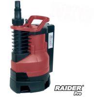 ВОДНА ПОМПА ПОТОПЯЕМА RAIDER RD-WP28 за мръсна вода / 400 W , воден стълб 5 м /