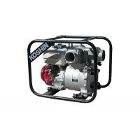 Бензинова траш помпа Koshin KTH-100S с датчик/ 10 kW , воден стълб 30 м / с двигател HONDA GX390 - 4''