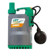Потопяема дренажна помпа за чиста вода City Pumps SPEED 70M / Дебит - 20-260 л/мин / Напор - 10.0-2.0 метра