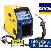 Телоподаващо устройство GYS Smartmig 142 / 40-140 A , 0.6-0.8 mm /