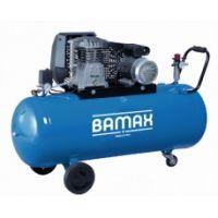 Трифазен компресор BAMAX BX39G/100CT3 / 10 bar , 3 к.с. , 200 l /