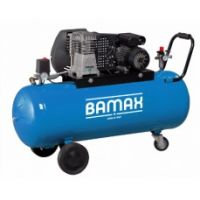 Монофазен компресор BAMAX BX39G/100CM3 / 10 bar , 3 к.с. , 100 l /