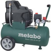 Компресор Metabo Basic 250- 24W Oil Free /1500W, 8 bar/