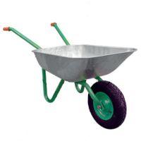 Количка ръчна VAL import галванизирана с надуваемо колело / 65 л. течност, 90л. пясък , 80 kg /