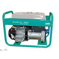 Бензинов монофазен генератор IMER EXPLORER 7510X AVR DE N/S / 7 kW / с двигател ROBIN SUBARU X40
