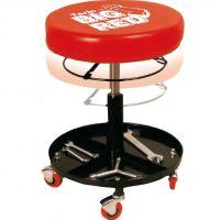 Автомонтьорски стол с поставка за инструменти TonGrun / 4 колела , 390 mm /