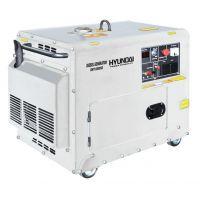 Дизелов мотогенератор Hyundai DHY 6000 SE / 5000 W , 10к.с./