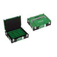 Куфар за инструменти HiKOKI    Hitachi HSC I / 295x395x105 mm / със смесени контейнери