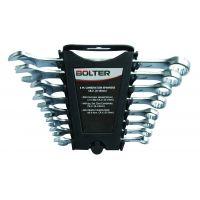 Ключове звездогаечени матирани Bolter комплект 12 бр. /6 - 22 мм/ CR.V.DIN 3113