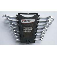 Ключове звездогаечени пресовани Bolter комплект 8 бр. /8 - 19 мм/ CR.V.