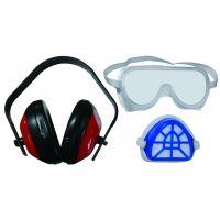Маска, антифони и очила комплект Bolter