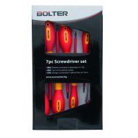 Отвертки Bolter изолирани и фазомер к-кт 7 бр.