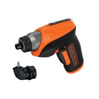 Акумулаторна отвертка  BLACK&DECKER CS3652LC / 3.6 V , 1.5 Ah /