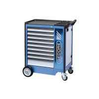 Инструментална количка с 9 чекмеджета плюс отделение за съхранение GEDORE 2004 0810