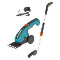 Комплект акумулаторни ножици за трева ClassicCut Gardena /телескопична дръжка/