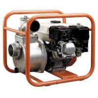 Бензинова водна помпа за чиста вода Koshin SEH-100X / с двигател Honda GX240 , 5.3 kW , воден стълб 28 м / - 4''
