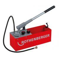 Ръчна помпа за изпитване на налягане ROTHENBERGER КОНТРОЛНА ПОМПА RP50 INOX