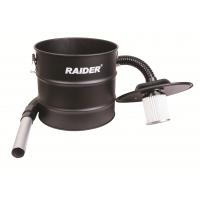 Контейнер за пепел метален с HEPA филтър за прахосмукачка RAIDER / 20 литра, 80 см. /