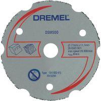 DREMEL универсален карбиден диск за рязане (DSM500) / 20 милиметра /