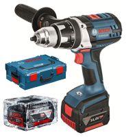 Акумулаторен пробивен винтоверт Bosch GSR 14.4 VE-2-Li / 14.4 V , 4.0 Ah , L-Boxx , 2 батерии /