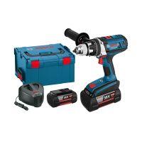 Акумулаторен пробивен винтоверт Bosch GSR 36 VE-2-LI Professional / 36 V , 4.0 Ah , L-Boxx , 2 батерии /