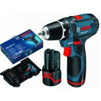 Акумулаторен винтоверт Bosch GSR 10.8 V-EC / 10.8 V , 2.0 Ah , 2 батерии /