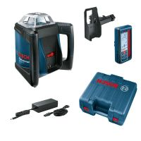Ротационен лазерен нивелир Bosch GRL 500 HV + LR 50 Professional / за хоризонтално и вертикално измерване