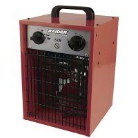 Калорифер електрически RAIDER RD-EFH05 / 5kW, дебит на въздух 200 куб.м/ч., трифазен /