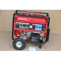 Бензинов генератор ProV004 / 6.5 kW , ел.стартер / с гумените колела