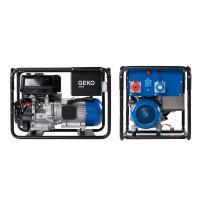 Бензинов генератор  Geko 6400 ED-A/HHBA / 400 V - 5900 W(16A) , 230 V - 5000 W(22A) , двигател Briggs&Stratton /