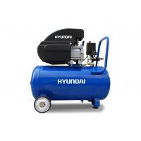 Компресор за въздух маслен HYAC 24-2 HYUNDAI / 1.5kW, 8 бара, 195 л/мин. дебит /
