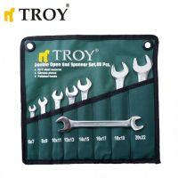 Комплект гаечни ключове TROY  T 21508, 8 части